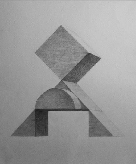 конструктивна задача с молив