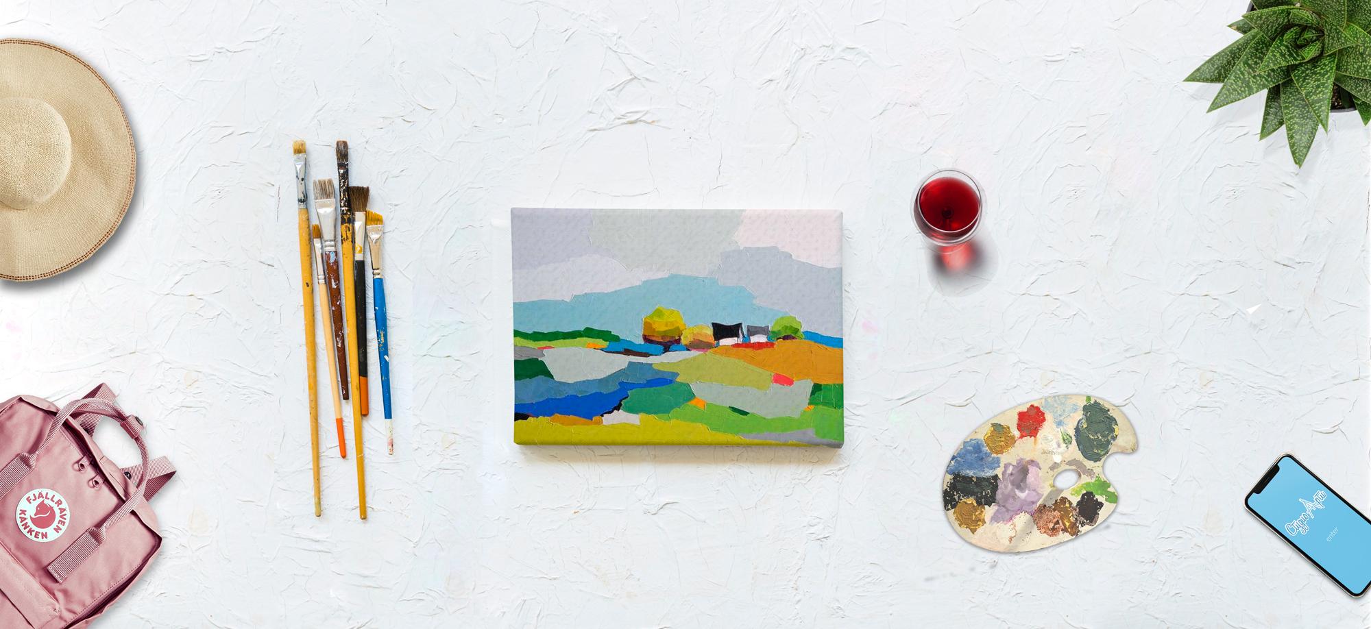 Рисуване с Подарък Чаша Вино